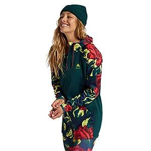 Burton Womens Crown Weatherproof Long Full-Zip Fleece