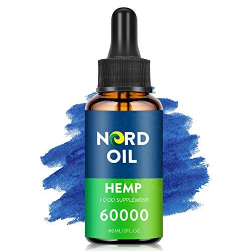 Premium Essential Öl Tropfen mit Flavonoide & Terpene, 100{6e9ca3edb62e02db4438c9f230b5cb7ab02f21c5029a51962e9a57bb0d609d8b} Naturprodukt mit Omega 6&9 Fettsäuren (60000/60ml)