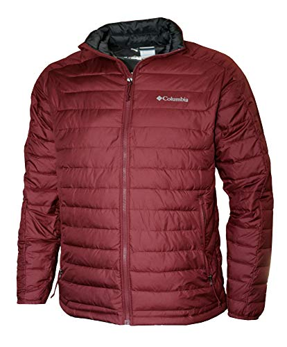 Columbia Men's White Out II Omni Heat Insulated Puffer Jacket (XL, Red Element)
