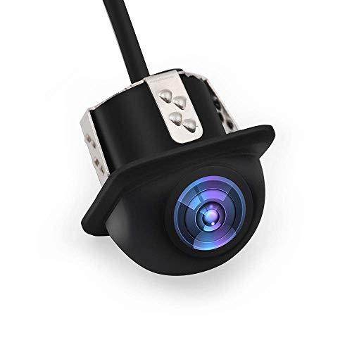 Voiture Universelle Vue Arrière Caméra CCD Chip Pour Tous Les Modèles De Voiture Couverture Noire, Parking Assiatance, IP67 Imperméable À L'eau