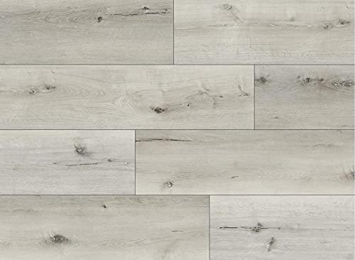 Kraus LVT Luxury Click Fit - Suelo de vinilo 100% impermeable, Wychwood 2,2 m² Pack - QEPLVTP005