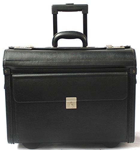 Valigia da pilota - trolley bagaglio a mano business - vinile