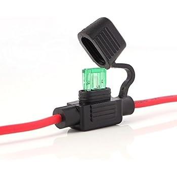 KFZ-Sicherungshalter Flachsicherung Halter 1,5mm² für Audi