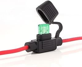Portafusibles Car Audio Mini ANL Caja de fusibles Portafusibles Base RV Modificaci/ón