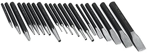SK Hand Tools 6020 20-Piece Punch and Chisel Set
