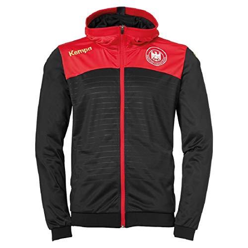 DHB Deutschland Kempa Emotion 2.0 WM Veste à capuche Taille L Noir/rouge