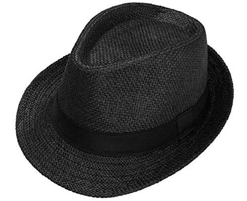 Sombrero De Paja para Hombre De Sombrero Unisex Verano Modernas Casual para...