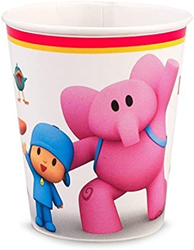 envío rápido en todo el mundo Pocoyo 9 oz. Paper Cups (8) by by by BirthdayExpress  los nuevos estilos calientes