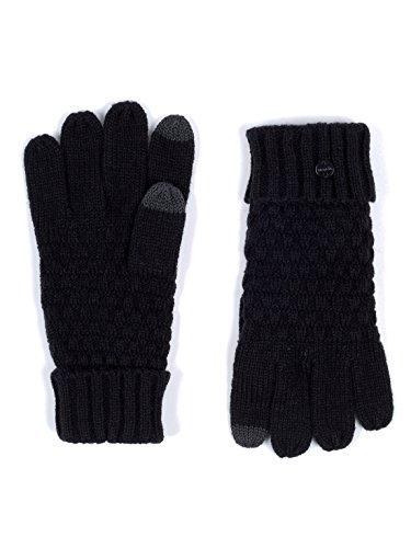 Bench Damen 5 FINGER GLOVE WITH ETIPS Handschuhe, Schwarz (Black Beauty Bk11179), One size