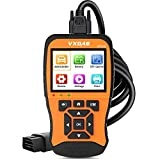 VXDAS NT510 OBD2 Scanner Enhanced OBDII Code Reader with Battery Tester Car Diagnostic Scan Tool Check Engine Light Vehicle Mode 6 /8 Analyze