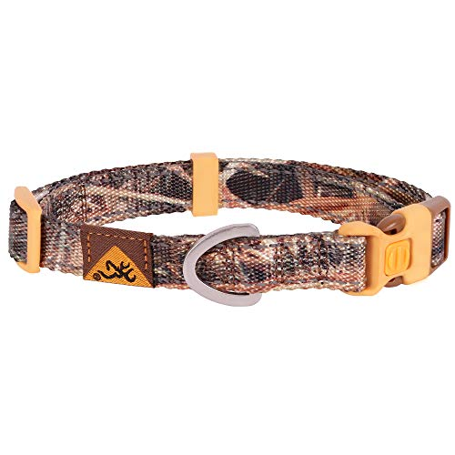 Browning Classic Dog Collar | Mossy Oak Shadow Grass Blades | Small
