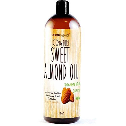 Purchase Molivera Organics Sweet Almond Oil, 16 oz.