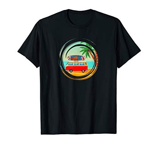 VAN Life, Camping, Camper, Reise, Bus, Natur, Abenteuer T-Shirt