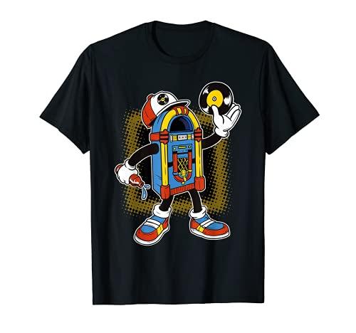 Vinilo Rockabilly 1950's Retro Classic Rock Música Camiseta