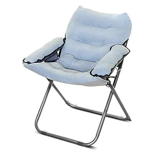 Chaises pliantes Chaise d'ordinateur à la Maison paresseuse Fauteuil inclinable de Bureau Mini Chaise de Jeu décontractée Chaise de Famille Chaise Confortable Chaise Commode