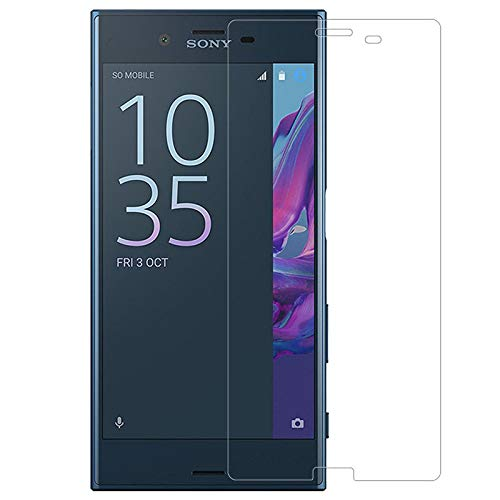 C-Tel Premium Anti Blue Ray (Eye Protect) Tempered Glass, Anti Fingerprint Screen Protector 0.4 mm Blue Light Resistant Eyes Protect Fiver Film Designed for Sony Xperia Xzs