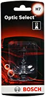 Bosch H7 Optic Select Upgrade Halogen Capsule, Pack of 1