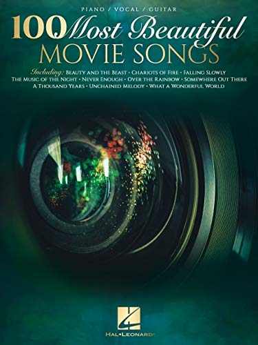 100 Most Beautiful Movie Songs Piano/Vocal/Guitar Songbook