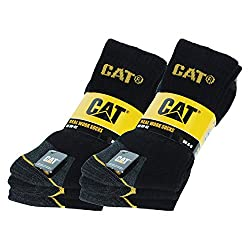 Caterpillar 6 pairs Men's Work Socks