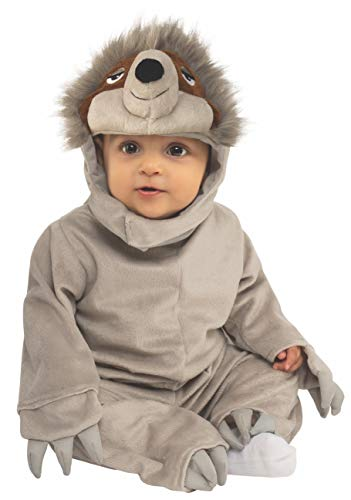 Rubie's Kid's Opus Collection Lil Cuties Sloth Costume Baby Costume, As Shown, Infant