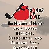 Juan Loves Minions, Spiderman, and Federal Way, Washington
