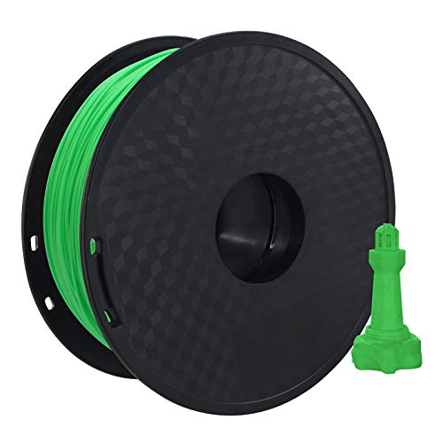 pedkit PLA Filament,PLA 3D Printer Filament 1.75mm Dimensional Accuracy +/- 0.02mm 1kg(2.2lbs) Spool, Green