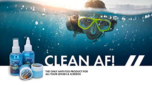 41FPMF9LqbL - Anti Fog Paste for Glasses | Refreshed Brand | Cleans and Prevents Fogging of Eyeglasses, Goggles, Binoculars and More| Long Lasting Solution