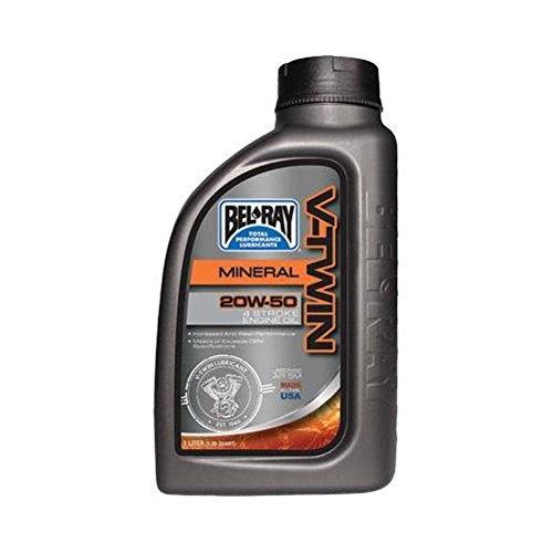 BEL RAY V-Twin Motor Oil–20W50–1L. 96905-bt1