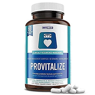 Provitalize for Menopause Weight Management Probiotics Women Men Better Body Co Previtalize Meno Best Natural Reviews (60 Capsules)