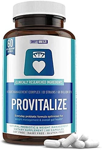 Provitalize for Menopause Weight Management Probiotics Women Men Better Body Co Previtalize product image
