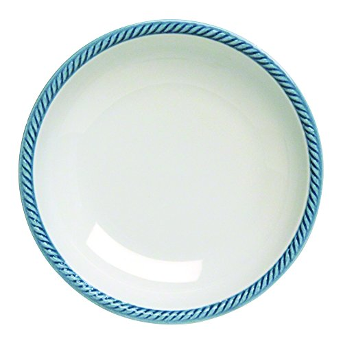 Tognana 21 cm Porcelaine Lido Assiette Creuse, Bleu Parent