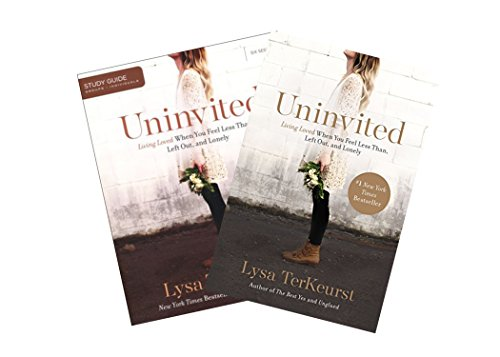 Lysa Terkeurst - Uninvited Study Set (Book + Study Guide) -  Thomas Nelson