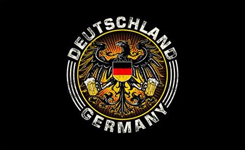 Fahne Flagge Fahnen Bierfahne Bieradler Deutschland Fahne 150 x 90 cm NEU+OVP