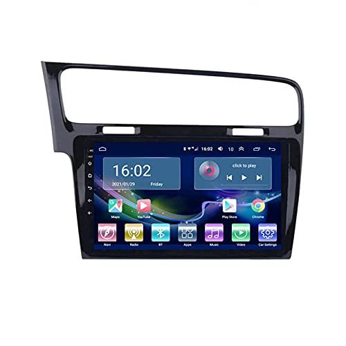 BEHOSE Radio de Coche para Volkswagen Golf 7 2014-2018, Radio del Coche Navegación GPS, Radio Coche 9 Pulgadas, Apoyo Mandos Volante, Mirror Link y Aparcamiento, Android 10.0, WiFi, 2 + 32G