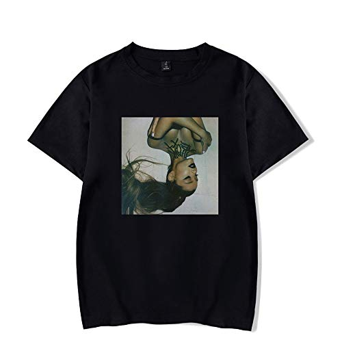 MR.YATCLS Camiseta Ariana Grande - Camiseta De Manga Corta con Estampado De Verano para Hombres Y Mujeres - Moda Casual con Cuello Redondo Y Chaleco Superior