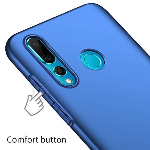Avalri für Huawei Nova 4 Hülle, Ultradünne Handyhülle Hardcase aus PC Stoß- und Kratzfest Kompatibel mit Huawei Nova 4 (Glattes Blau) - 6