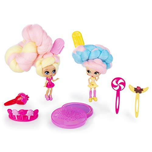 """Candylocks, BFF 2-Pack, 3"""" Kerry Berry and Beau Nana, Scented Collectible Dolls with Accessories"""