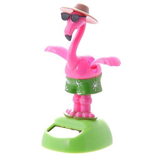 Solarfigur #50400 Solar Pal Tanzender Flamingo mit Sonnenbrille