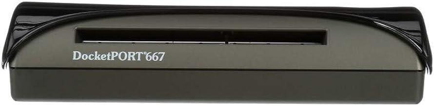 DocketPort DP667 Card Scanner, Portable USB-Powered Professional Scanner