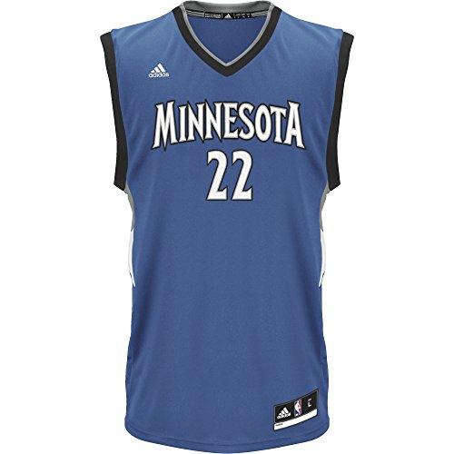 adidas Herren T-Shirt Timberwolves, Camiseta para Hombre, Multicolor (Nba Minnesota Timberwolves 1 316), XS