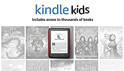 Image: All-new Kindle Kids Edition - Includes access to thousands of books - Space Station Cover