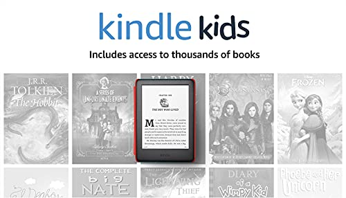 Kindle Kids, a Kindle designed for kids, with parental controls - Space Cover