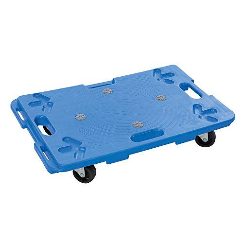 Silverline 407053 Plataforma de plástico con empuñaduras, Azul