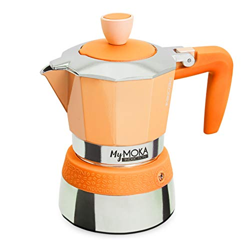 Pedrini-Espressokocher MyMoka Induction MYMOKA INDUCTION 3 Tazze Watermelon
