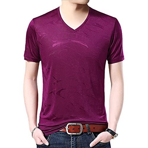 Casual de manga corta de los hombres de la camiseta de verano de la camiseta Streetwear Tee Shirts