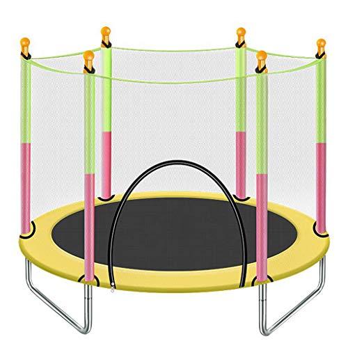 CZLWZZD Trampoline for Kids Trampoline Outdoor With Safety Net and Ladder Jumping Children's Trampoline Garden Trampoline