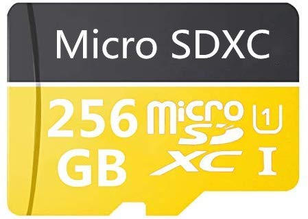 Micro SD Card 256 GB High Speed Class 10 Micro SD SDXC Card mit Adapter
