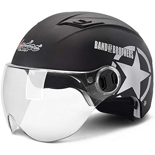 Fahrradhelme Helme für Skateboarding Fahrradhelm Leicht und atmungsaktiv Zum Schutz des Kopfes. Geeignet for den Stadtverkehr (Color : #6, Size : 56-62CM)
