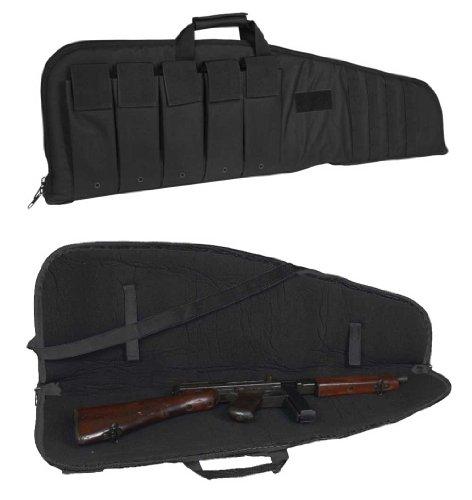 Étui pour fusil avec sangle de transport, noir, 120