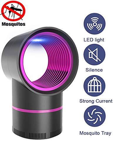 Gettop Licht Bug Zapper UV Insektenfalle Elektrischer Insektenvernichter, UV Insektenvernichter Bug Zapper, Für Kinderzimmer Schlafzimmer Wohnzimmer Andere Innenumgebung Mückenlampe